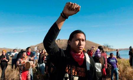 Борьба индейских коренных народов США, против нефтяных компаний