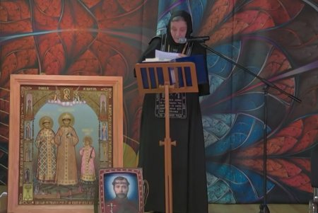 Слово схимонахини Николаи (Гроян) на конференции в коломенском 24.02.2019
